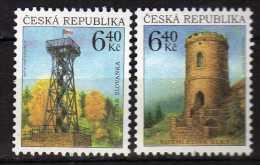 Czech Republic 2003 Watchtowers.MNH - Neufs