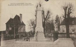 21 GILLY LES CITEAUX / Gilly Les Vougeot, Monument Aux Morts / - France