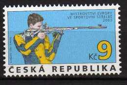 Czech Republic 2003 European Shooting Championship.MNH - Ongebruikt