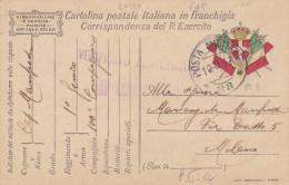 CARD  FRANCHIGIA MILITARE POSTA MILITARE 88  12.9.17  -FP-V-2-0882-24189 - Weltkrieg 1914-18