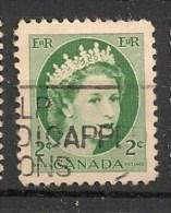 Timbres - Amérique - Canada - 1954 - 2 Cents -