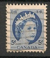 Timbres - Amérique - Canada - 1954 - 5 Cents -