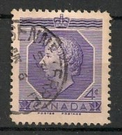 Timbres - Amérique - Canada - 1953 - 4 Cents -