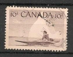 Timbres - Amérique - Canada - 1955 - 10 Cents -