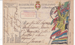 CARD  FRANCHIGIA MILITARE POSTA MILITARE 14  19.5.18   -FP-V-2-0882-24191 - Weltkrieg 1914-18
