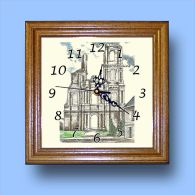 HG CL 62436 - Horloge Avec Une Vue De 62 MONT SAINT ELOI - Horloges