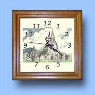 HG CL 62449 - Horloge Avec Une Vue De 62 ECOIVRES - Horloges