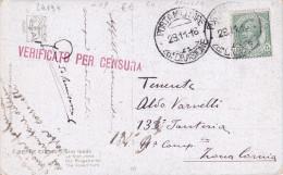 CARD ILLUSTRATA   POSTA MILITARE 26.° DIVISIONE  A     28.11.16  PALUZZA  -FP-V-2-0882-24194 - Weltkrieg 1914-18