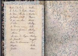 LIVRETS D´ OEUVRES MUSICALES DU XIX ème Siècle - Liste Sur Scan - Rossini Boieldieu Donizetti Etc. - Musique