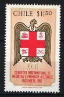 Chile 1980.  Stamp Exhibition / Animals - Birds Stamp MNH (**) - Nuovi