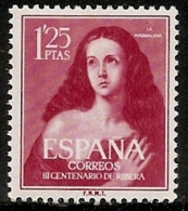 1954-ED. 1129-SERIE COMPLETA-III CENT. DE RIBERA ´´EL ESPAÑOLETO´´.STA.MARIA MAGDALENA-NUEVO - 1931-Hoy: 2ª República - ... Juan Carlos I