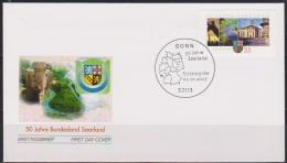 BRD FDC 2007 Nr.2581  50 Jahre Bundesland Saarland ( D1867 ) - [7] Federal Republic