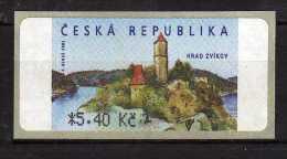 Czech Republic 2002 Castle Zvikov.self-adhesive Stamp.MNH - Czech Republic