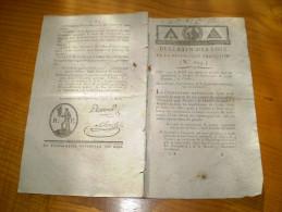 Lois An III :Colons St Domingue,Ruénion,Pondichéry.Organisation Tribunal Révolutionnaire:jugement,peine De Mort,composi - Decrees & Laws