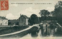 21 SAINT SYMPHORIEN SUR SAONE / Canal Du Rhône Au Rhin / - France