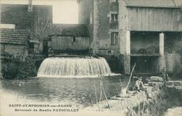 21 SAINT SYMPHORIEN SUR SAONE / Deversoir Du Moulin Patouillet / - France