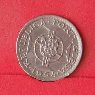 MOZAMBIQUE  2,5  ESCUDOS  1954   KM# 78  -    (Nº12477) - Mozambique