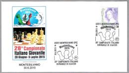 Campeonato Italiano JUVENIL DE AJEDRES - CHESS. Montesilvano, Pescara, 2015 - Scacchi