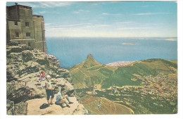 South Africa - RSA - View Of Lion`s Head And Robben Island From Upper Cableway Station - Table Mountain - Südafrika