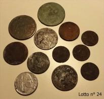 Lotto 12 Monete Da Identificare - Lot 12 Caoins To Be Identified - Coin - Monete
