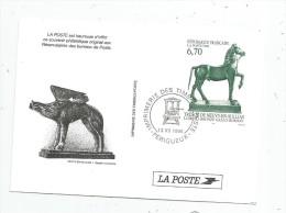 Souvenir Philatélique , Imprimerie Des Timbres Poste , PERIGUEUX , 1996 - Postdokumente