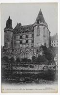 LA ROCHEFOUCAULD - N° 28 - CHATEAU - ENSEMBLE OUEST - CPA NON VOYAGEE - France