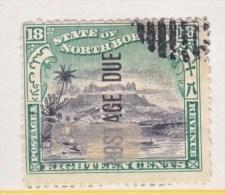NORTH BORNEO   J 18   (o) - North Borneo (...-1963)