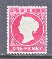 GAMBIA  13   *    Wmk 2  Sideways - Gambia (...-1964)