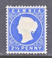 GAMBIA  15    *    Wmk 2  Sideways - Gambia (...-1964)