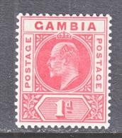 GAMBIA  42   *   Wmk 3 - Gambia (...-1964)