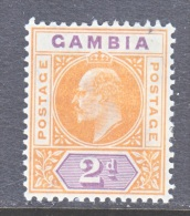 GAMBIA  43    *   Wmk 3 - Gambia (...-1964)
