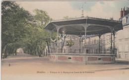 461508-03- MOULINS  Kiosque De La Musique Et Cours De La Préfecture - Moulins