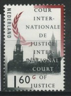 PAYS BAS   Cour Internationale De Justice De La Haye      N° Y&T  SCE57  ** - Servicios