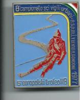MED033 - SPILLA - 8° CAMPIONATO SCI VIGILI URBANI - ASPM - 5° EUROPOLSKI TROFEO HB - MONTE BONDONE 1977 - Sport Invernali