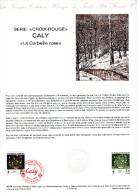 """FRANCE 1984 : Document Philatélique Officiel N° 40-84 """" CROIX ROUGE : OEUVRE DE CALY """" N° YT 2345. Parfait état. DPO - Red Cross"""