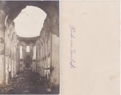 AK  Aus Dem 1. Weltkrieg -Zerstörte Kiche Von Zonnebeke- - Zonnebeke