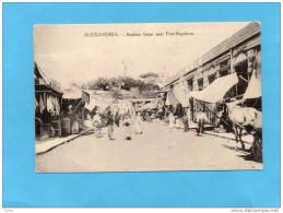 EGYPTE-ALEXANDRIA-arabian   Bazar-fort Napoléon-gros Plan Animée-édition Livadas & Coutsicos-années 1900-10 - Alejandría