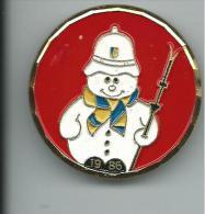 MED047 - SPILLA - GIOCHI MONDIALI DELLE POLIZIE  - TRENTO 1986 - Sport Invernali