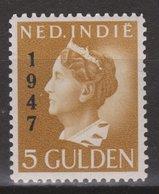 Nederlands Indie Netherlands Indies 326 MNH ; Koningin, Queen, Reine, Reina Wilhelmina 1947 - Niederländisch-Indien