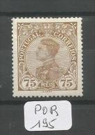 POR Afinsa  163 Xx LUXE - 1910 : D.Manuel II