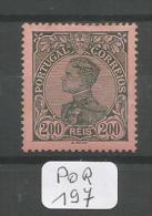 POR Afinsa  166 X LUXE - 1910 : D.Manuel II