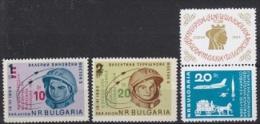 Bulgaria 1964 Space 3v ** Mnh (24261) - Space