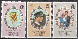 Pitcairn  Islands    Scott No.  206-8    Mnh      Year  1981 - Pitcairn Islands