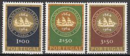 Portugal    Scott No.  925-27    Mnh     Year  1964 - 1910-... República