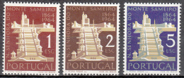 Portugal    Scott No.  928-30    Mnh     Year  1964 - Nuevos