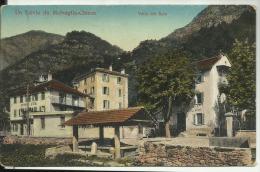 SUISSE - Un Saluto da Malvaglia - Chiesa - Valle del Sole  - (RISTORANTE  + LAVOIR)