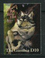 (cl 6 - P.36)  Gambie ** N° 2343  (ref. Michel Au Dos) - Loup - - Gambie (1965-...)