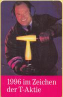 Telefoonkaart – Duitsland - Deutsche Telekom  - 12DM - 1996 Im Zeichen Der T-Aktie - Follow Me Zu Neuen Chancen - - Telefoonkaarten