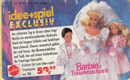 Telefoonkaart – Duitsland - Deutsche Telekom  - 12DM - Idee + Spiel Exclusiv - Barbie/Stacie/Todd -kaart 4 - Telefoonkaarten