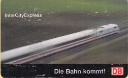 Telefoonkaart – Duitsland - Deutsche Telekom  - 12DM - Deutsche Bahn/Duitse Spoorwegen - InterCity Express - Trein - Treinen